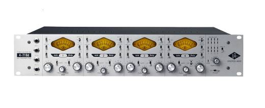 Universal Audio 4-710D Four-Channel Tone-Blending Mic Preamp w/ Dynamics