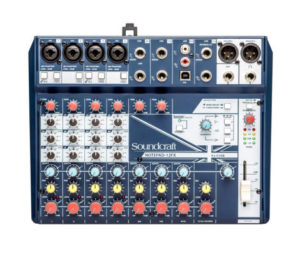 Notepad-12FX Small-Format Analog Mixer with USB I/O and Lexicon Effects
